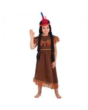 CARNIVAL TOYS 66007 costume indiana bambina vi-vii