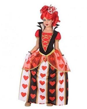 ATOSA 56872 costume regina di cuori 7-9 alice