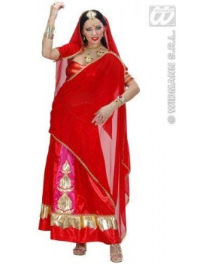 WIDMANN 73841 costume bollywood indiana s top, gonna, fascia