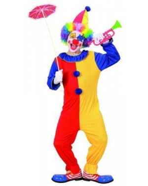 Costume Clown 140Cm 8/10