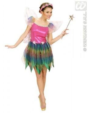 Costume Fatina Dell Arcobaleno L