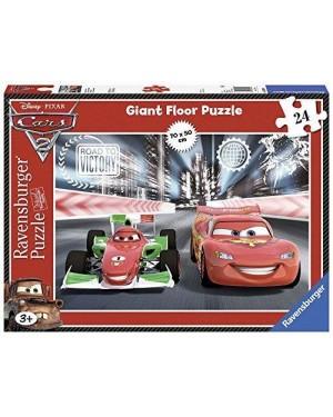 RAVENSBURGER 05304 puzzle 24 pavimento duello cars 2