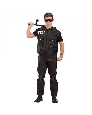CARNIVAL TOYS 83043 costume poliziotto m squadra speciale