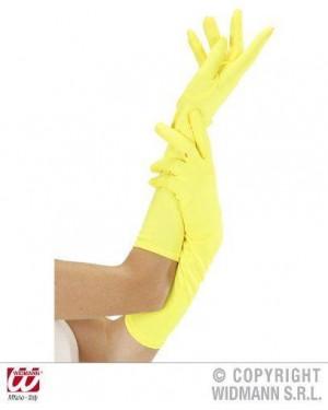 widmann 9503y guanti neon gialli lunghi
