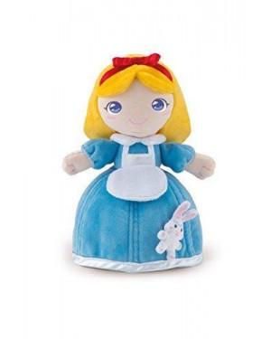 TRUDI 64264 peluche bambola alyssa con coniglietto