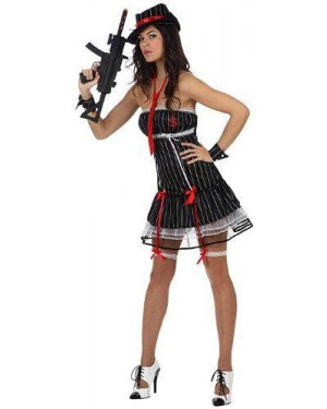 ATOSA 10437 costume gangster sexy , adulto t-2