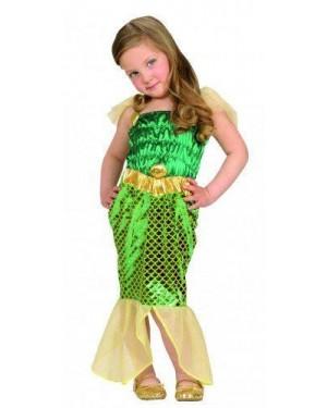 Costume Sirenetta 1/2 2/3 98-104Cm