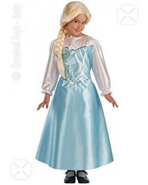 Costume Elsa 4/5 T.4 114Cm Made In Italy Frozen