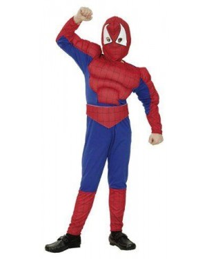 CLOWN 70253 costume eroe dei ragni spiderman 6/8/10