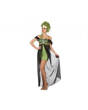 Costume Dea Greca Tg2 M Medusa Serpente
