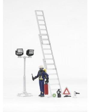 BRUDER 62700 figure-set fire brigade