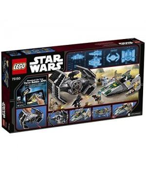 LEGO 75150 lego star wars tm tie advanced di vader contro a-w