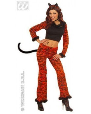 Costume Tigre Teenager Con Accessori@