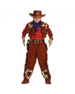 CLOWN 31608 costume cow boy 8 anni