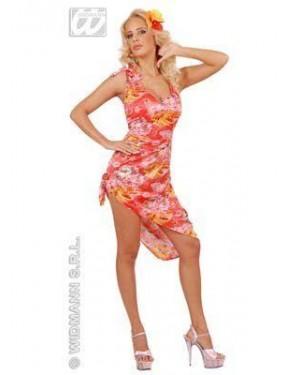 WIDMANN 77091 costume hawaiana s vestito fiori