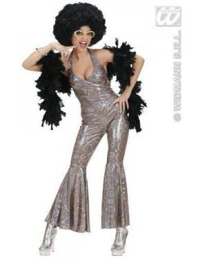 Costume Dancing Queen M 70S Tuta Olografica