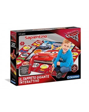 CLEMENTONI 11987.0 tappeto gigante interattivo cars 3