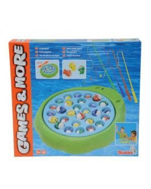 SIMBA 106066956 gioco pesca pesci a batterie maxi 28 pesci