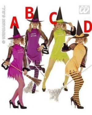 Costume Strega M Spicy Witch Con Cappello