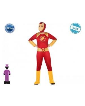 ATOSA 56941 costume dc flash 5-6 supereroe