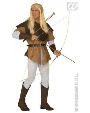 Costume Elfo Arciere Xl Uomo