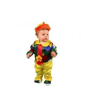 Costume Pagliaccio Baby 12-24M