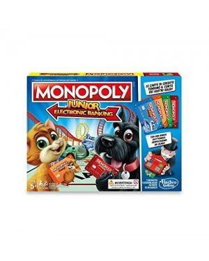 HASBRO E1842103 hasbro gioco da tavolo monopoly jr banking