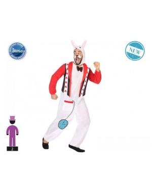 ATOSA 54489 costume coniglietto t-2 alice meraviglie