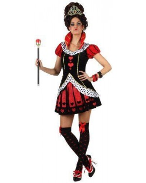 ATOSA 22540 costume regina cuori t1 xs\s