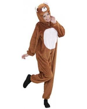 WIDMANN 9947B costume orso peluche m cappuccio maschera