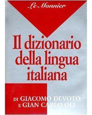 LE MONNIER  dizionario italiano