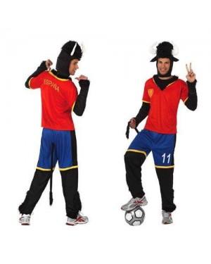 ATOSA 10524 costume toro m calciatore