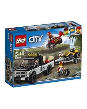 LEGO 60148 lego city team da corsa del fuoristrada