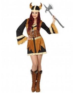 Costume Vichinga Nero T2 M\L