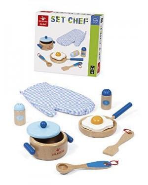 DAL NEGRO 53856 chef set accessori