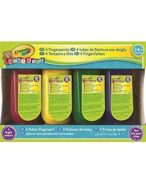 CRAYOLA 3239 crayola 4 tubi tempera a dita
