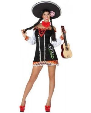 Costume Mariachi Sexy, Adulto T. 1