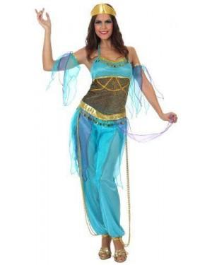 Costume Ballerina Araba Azzurra T-2