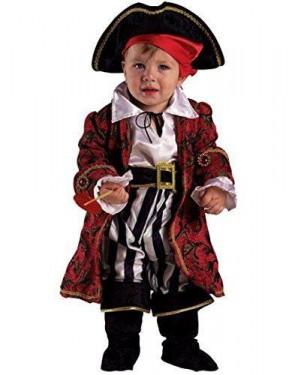 CLOWN 67312 costume baby pirata deluxe 12 mesi