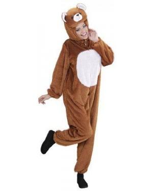 WIDMANN 9946A costume orso m peluche cappuccio maschera
