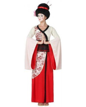 ATOSA 15283 costume geisha adulto t-1 xs/s kimono e cintura