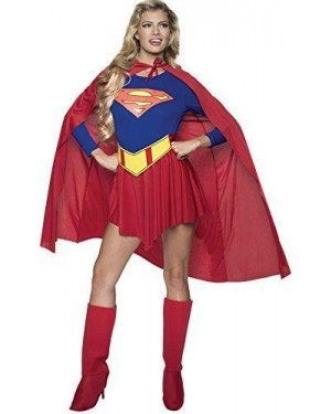 RUBIES 15553 costume super girl m