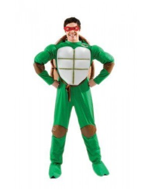 RUBIES 888817XL costume ninja turtle xl 4 colori