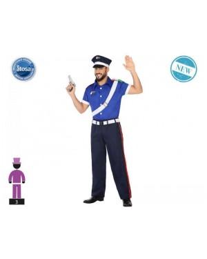 ATOSA 54751 costume poliziotto t-2 (tipo a)