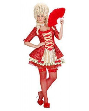 Costume Regina Barocca Rossa M