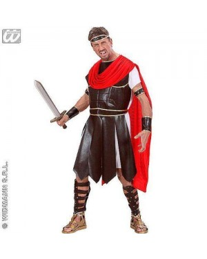 Costume Ercole S Tunica Armatura,Cintura,Mantel,