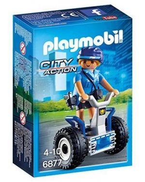 PLAYMOBIL 6877 poliziotta con segway
