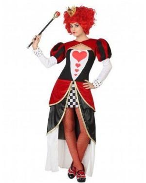 ATOSA 26854 costume regina di cuori adulto t1 xs\s