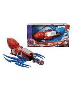 simba 089715 lanciatore proiettore spiderman con macchina