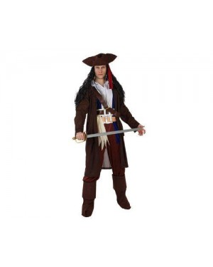 ATOSA 96818 costume pirata dei caraibi adulto m-l